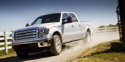 Pickup trucks, such as the Ford F-150, are likely candidates to use a new rear-drive 10-speed automatic transmission being jointly developed by Ford and General Motors.