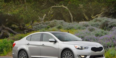 The 2014 Kia Cadenza is available in a single trim level, and available are a Premium and the fully-loaded Technology packages.