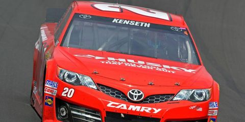 Matt Kenseth was penalized 50 driver points, and the Coors Light Pole award from April 19 at Kansas Speedway will not be counted for eligibility into the 2014 Sprint Unlimited.