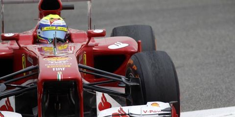 Felipe Massa qualified sixth, but moved up to fourth after penalties to Mark Webber and Lewis Hamilton.