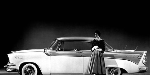 The Dodge La Femme was built in the 1950s and designed spcifically for women.