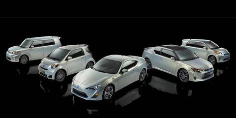 The 10 Series trims celebrate Scion's ten year anniversary.