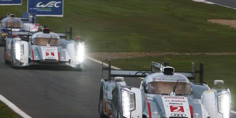 Audi has been so dominant in the World Endurance Championship, that competitor, Toyota, says it can't compete.
