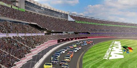 A major renovation and expansion of Daytona International Speedway may be put on the back burner after a the Florida legislature failed to pass tax subsidies that would have aided the project.