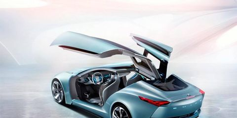 The Buick Riviera concept debuted at the Shanghai auto show.