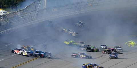 NASCAR fans shouldn't expect any payback from Richmond at Talladega this weekend.
