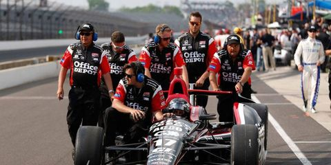 Michel Jourdain Jr. and his crew were unable to find the speed needed to make this year's Indianapolis 500.