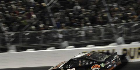 Carl Edwards took the pole for the Sprint Cup All-Star race, which will take place on Saturday night.
