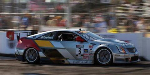 Johnny O'Connell was tops in qualifying for the Pirelli World Challenge in Austin on Friday.