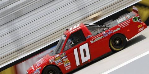 Jennifer Jo Cobb failed to qualify for Friday night's Truck Series race.
