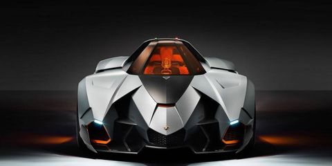 Presenting the Lamborghini Egoista concept. Hey, we're sure the Countach was pretty polarizing when it came out, too.