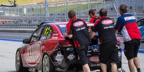 The Australian V8 Supercars began practice on Friday in advance of a big weekend of racing at Circuit of the Americas in Austin, Texas.