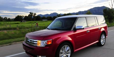 The V6 EcoBoost, introduced in 2009, has been offered in the 2010-13 Ford Flex crossover.