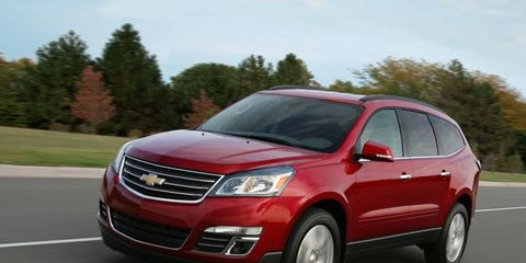 Consumers rated the 2013 Chevrolet Traverse as the best crossover.