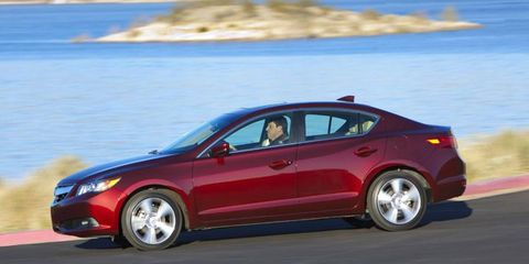 The 2014 Acural ILX goes on sale Tuesday.