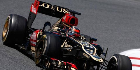 Kimi Räikkönen finished second at the Formula One Spanish Grand Prix on Sunday in Barcelona.