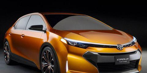 Toyota Corolla Furia concept from Detroit auto show.