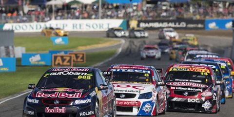 The V8 Supercars are getting ready to make their trip across the Atlantic Ocean to come to Austin.