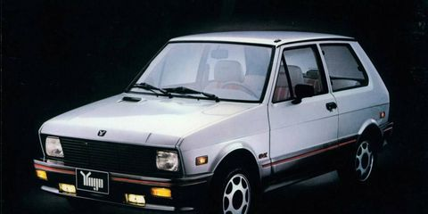 More powerful! That meant 61 hp, in the case of the Yugo GVX.