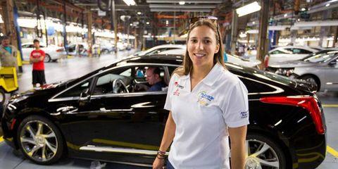 New 2014 Cadillac ELR hybrid begins production.