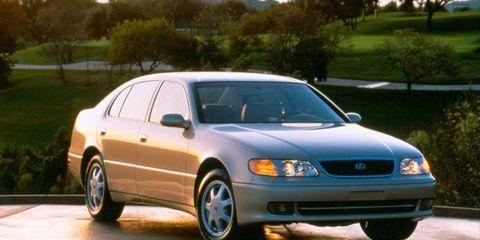Giorgetto Giugiaro designed the 1993 Lexus GS.