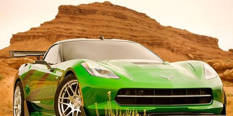The Stingray is just one of the new robots in Transformers 4.