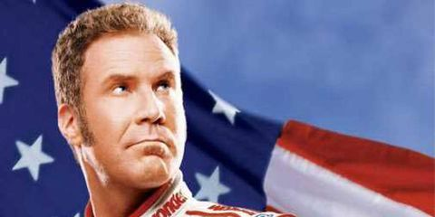 Of course Ricky Bobby would have to be right near the top of this list.