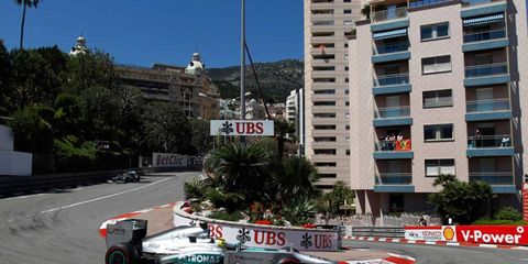 Nico Rosberg's win at Monaco was seen by an estimated 1.5 million TV viewers in the United States on Sunday.