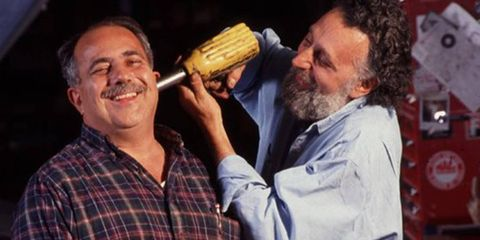 """Brothers Ray (left) and Tom Magliozzi hosted """"Car Talk"""" on NPR for 25 years."""