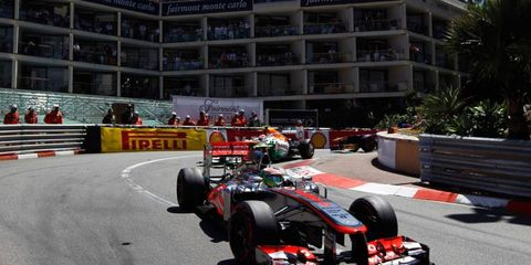 Sergio Perez angered a few of his Formula One rivals with some overly aggressive driving in Monaco.