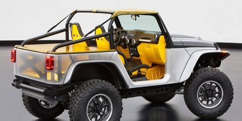 The lightweight Wrangler Stitch concept that engineers revealed in March could be an indication of things to come.