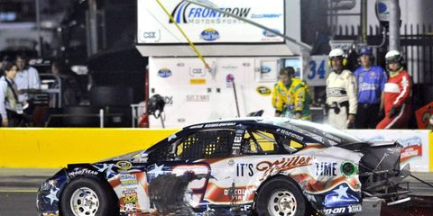 Brad Keselowski finished 36th at Charlotte on Sunday night, and he fell to 10th place in the NASCAR Sprint Cup standings.