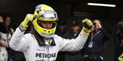 Nico Rosberg won Sunday's Monaco Grand Prix, and then he spoke to the press about the big victory.