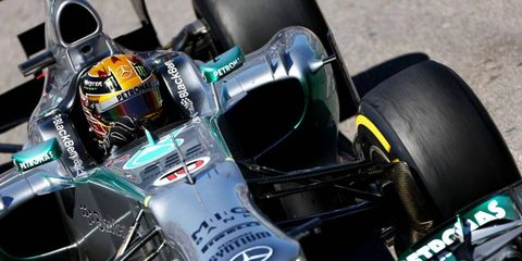 Lewis Hamilton and Mercedes teammate Nico Rosberg spent three days at a private Pirelli tire test that has some F1 rivals crying foul.