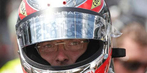 Sebastien Bourdais is starting 15th in this year's Indianapolis 500.