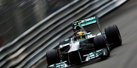 Lewis Hamilton has posted back-to-back runner-up qualifying efforts in Formula One after finishing second to teammate Nico Rosberg on Saturday.