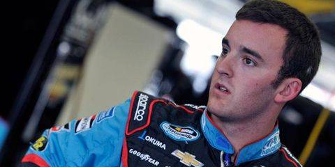 Austin Dillion will start Saturday's NASCAR Nationwide Series race from Charlotte on the pole.