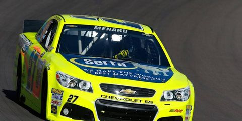 Paul Menard will remain at Richard Childress Racing beyond the 2013 season, after all.