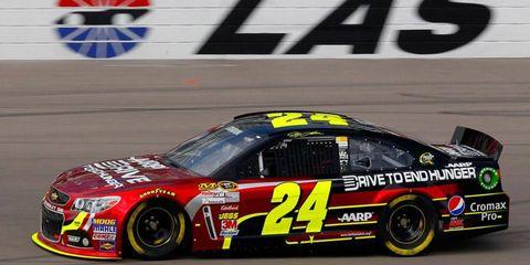 Jeff Gordon sees Las Vegas as a growing market for NASCAR.