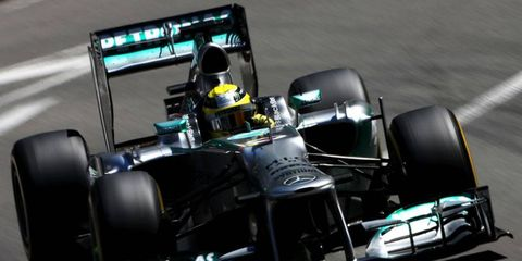 Nico Rosberg grabbed his third straight pole position with the top qualifying effort for the Formula One Monaco GP.