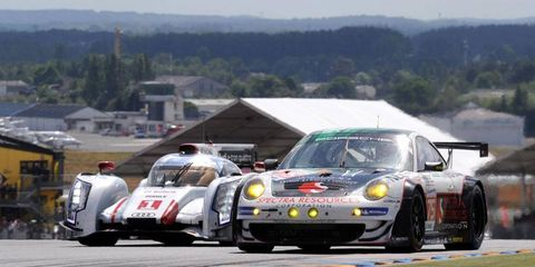 Officials plan to use the 24 Hours of Le Mans as an opportunity to work on brand awareness of the new United SportsCar Racing brand which will debut in 2014.