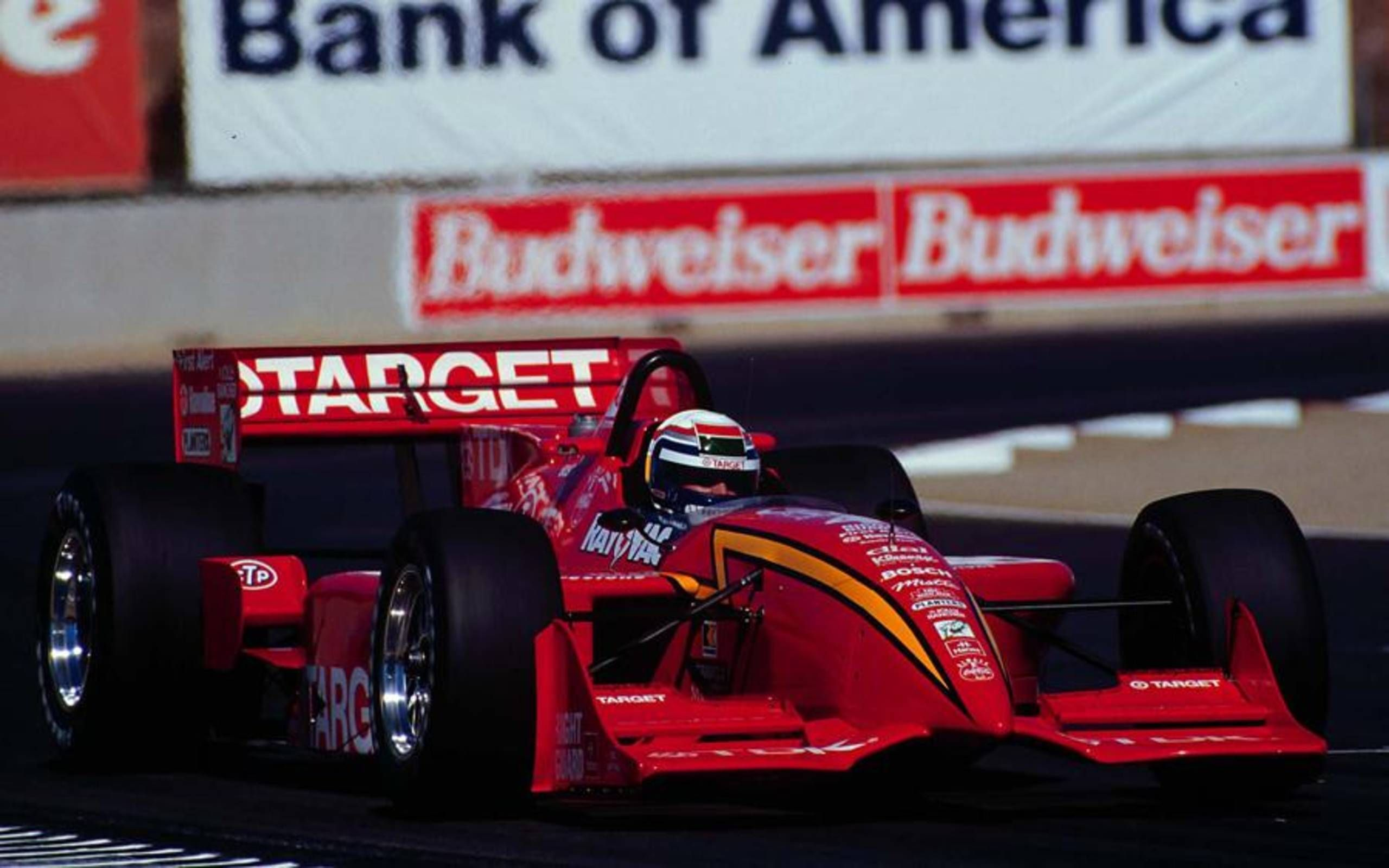 Chip Ganassi awards Alex Zanardi with winning car from 1996