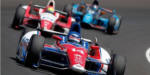 The 97th running of the Indianapolis 500 is scheduled for Sunday.
