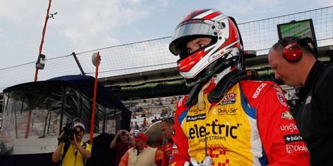 Indianapolis 500 rookie Carlos Munoz will start the race in the middle of the first row.