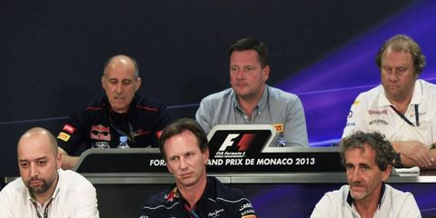 Several representatives from Formula One teams met on Thursday to talk to the press.