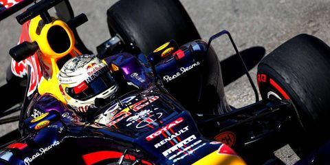 Sebastian Vettel finished the first Monaco practice in ninth place, but he's hoping to improve.