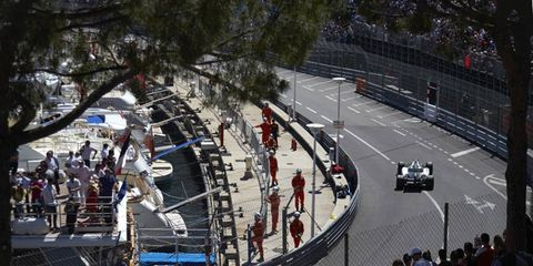 Nico Rosberg was happy about his practice at Monaco on Thursday, but he wasn't getting overconfident.
