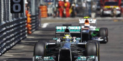 Much to no one's surprise, Mercedes was the fastest car during Formula One practice in Monaco.