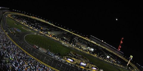 Bruton Smith has hinted at moving the fall race at Charlotte Motor Speedway to Las Vegas.