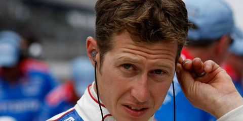 Ryan Briscoe's car was one of three that failed inspection following qualifying for the Indianapolis 500.
